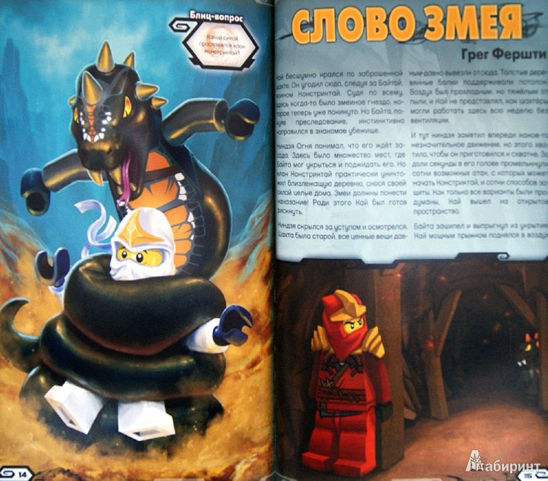 Иллюстрация 1 из 16 для Ниндзя против Констриктай   Лабиринт - книги. Источник: Лабиринт