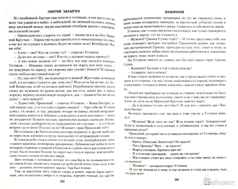 Иллюстрация 1 из 12 для Комиссия - Сергей Залыгин   Лабиринт - книги. Источник: Лабиринт