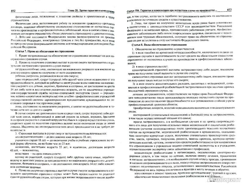 Иллюстрация 1 из 12 для Комментарий к Трудовому Кодексу Российской Федерации с постатейным приложением материалов - Гребенщиков, Доброхотова, Завгородний | Лабиринт - книги. Источник: Лабиринт