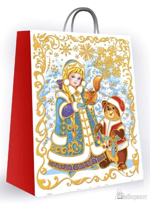 Иллюстрация 1 из 3 для Пакет бумажный для сувенирной продукции (27618) | Лабиринт - сувениры. Источник: Лабиринт