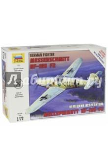 Немецкий истребитель Мессершмитт Bf 109 F-2 (7302) немецкий истребитель мессершмитт bf 109 f2 1 48