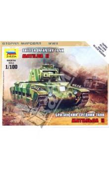 Британский средний танк Матильда II (6171) танк звезда матильда ii британский средний 1 100 6171