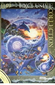 Puzzle-1149 Подводный мир (Пазл в пазле) (83509) пазлы magic pazle объемный 3d пазл эйфелева башня 78x38x35 см