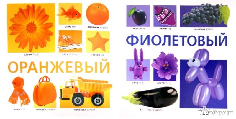 Иллюстрация 1 из 14 для Цвета в картинках. 100 предметов разных оттенков | Лабиринт - книги. Источник: Лабиринт