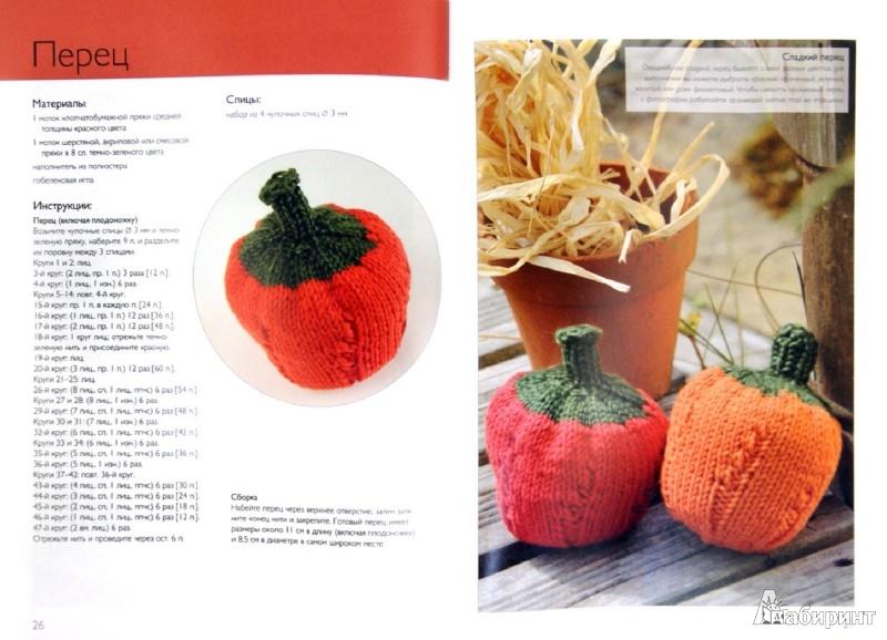 Иллюстрация 1 из 38 для Вязаные овощи. 20 проектов - Сьюзи Джонс | Лабиринт - книги. Источник: Лабиринт