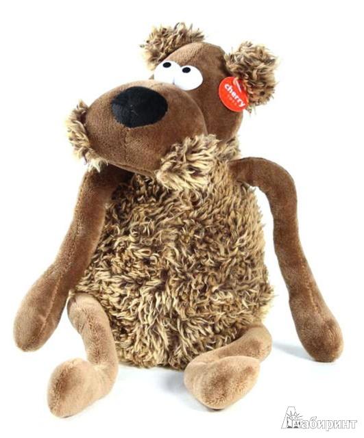 Иллюстрация 1 из 2 для Мягкая игрушка. Собака - 22 см (12222) | Лабиринт - игрушки. Источник: Лабиринт