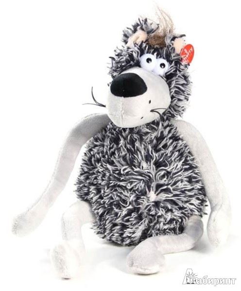 Иллюстрация 1 из 4 для Мягкая игрушка. Волк - 24 см (12227) | Лабиринт - игрушки. Источник: Лабиринт