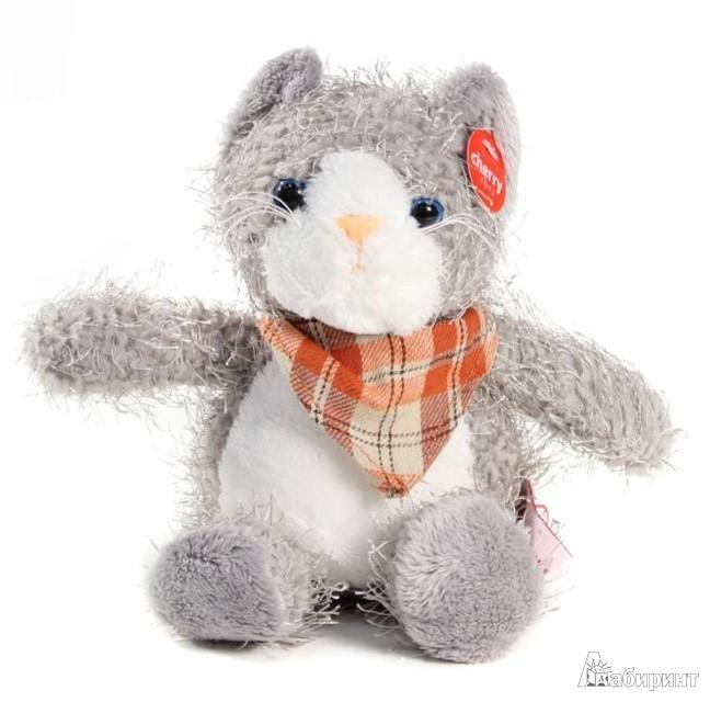 Иллюстрация 1 из 5 для Мягкая игрушка. Котёнок - 22 см (41017)   Лабиринт - игрушки. Источник: Лабиринт