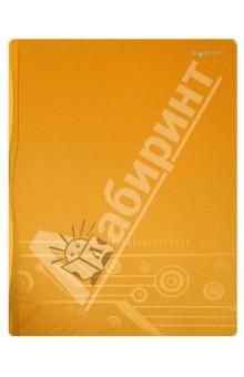 Папка с прижимом DISCOVERY. Цвет: охра (255041-26)