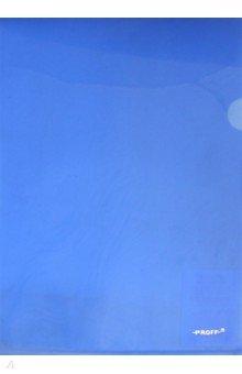Папка-уголок A4, синяя (20-1978)