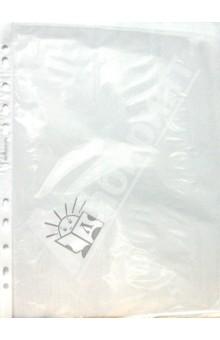 Файл с перфорацией, А4, 60 мкм (100/1300) (ПФ-060)