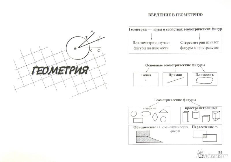 Иллюстрация 1 из 5 для Алгебра + геометрия. 7 класс. Справочник для учащихся | Лабиринт - книги. Источник: Лабиринт
