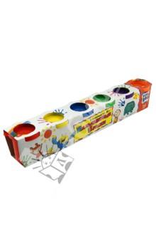Пальчиковые краски, 6 цветов, 50 гр. (44526)