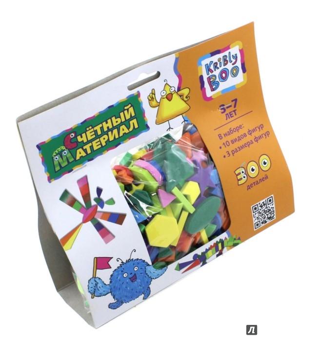 Иллюстрация 1 из 5 для Счётный материал, 300 деталей (47090) | Лабиринт - игрушки. Источник: Лабиринт