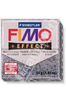 FIMO Effect полимерная глина, 56 гр., цвет гранит (8020-803) глина для моделирования fimo soft цвет прозрачный 56 г
