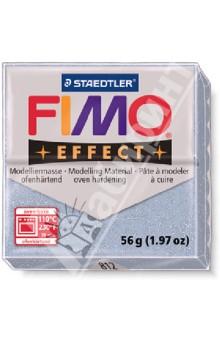 FIMO Effect полимерная глина, 56 гр., цвет серебро блеск (8020-812) глина для моделирования fimo soft цвет прозрачный 56 г