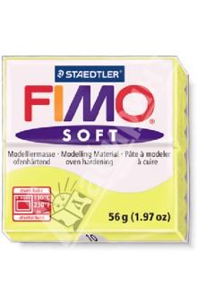 FIMO Soft. Полимерная глина для моделирования. Цвет: лимонный (8020-10) глина для моделирования fimo soft цвет прозрачный 56 г