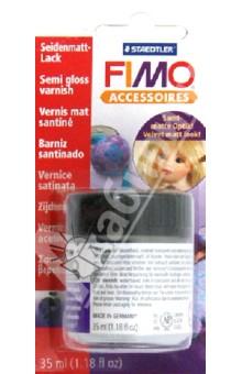 FIMO Accessoires. Полуматовый лак на водной основе, 35 мл. (8705 01) fimo accessoires полуматовый лак на водной основе 35 мл 8705 01