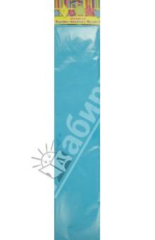 Бумага голубая крепированная (28586/10)