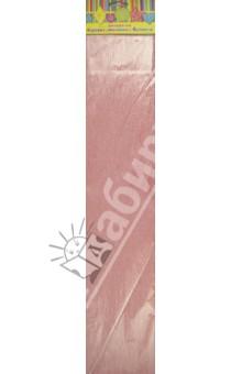 Бумага розовая перламутровая крепированная (28595/10)