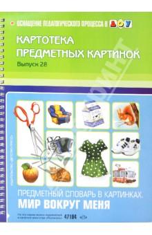 Картотека предметных картинок. Выпуск 28. Предметный словарь в картинках. Мир вокруг меня
