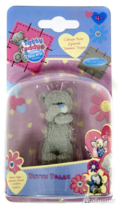 "Иллюстрация 1 из 6 для Tatty Teddy & my Blue Nose Friends. Фигурка ""Татти Тедди"" (43775) | Лабиринт - игрушки. Источник: Лабиринт"