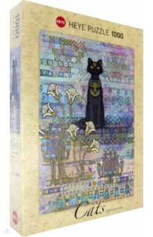 Puzzle-1000 Египетская кошка, Jane Crowther (29536) demarkt потолочная люстра de markt city тетро 673012603