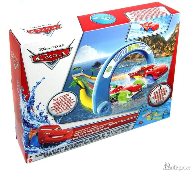 Иллюстрация 1 из 3 для Набор  игровой для купания Cars 2 (9744X) | Лабиринт - игрушки. Источник: Лабиринт