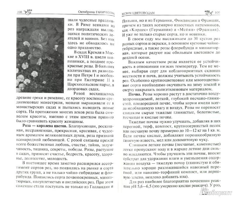 Иллюстрация 1 из 5 для Моим цветоводам - Ганичкина, Ганичкин | Лабиринт - книги. Источник: Лабиринт