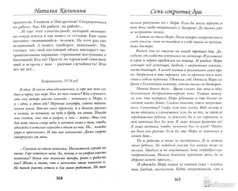 Иллюстрация 1 из 11 для Семь сокрытых душ - Наталья Калинина   Лабиринт - книги. Источник: Лабиринт
