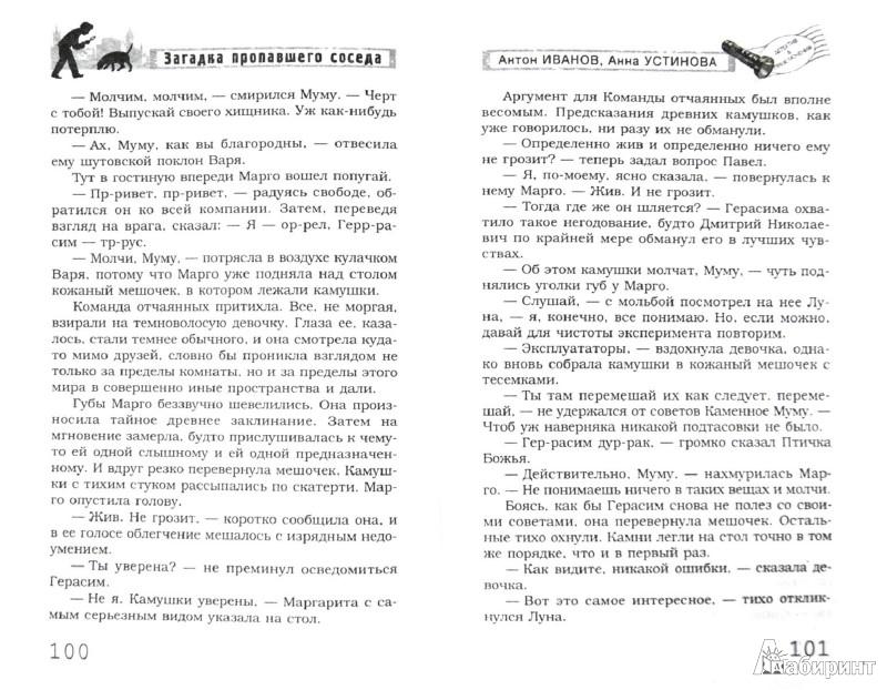 Иллюстрация 1 из 6 для Загадка пропавшего соседа - Иванов, Устинова | Лабиринт - книги. Источник: Лабиринт