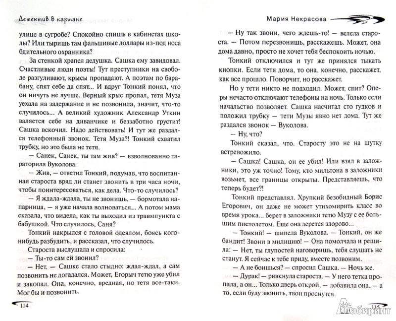 Иллюстрация 1 из 6 для Детектив в кармане - Мария Некрасова | Лабиринт - книги. Источник: Лабиринт