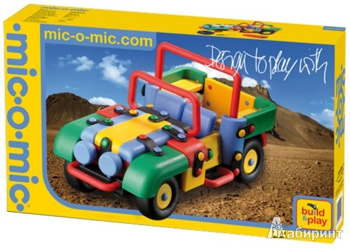Иллюстрация 1 из 5 для Конструктор. Машина. 145 деталей (089.023)   Лабиринт - игрушки. Источник: Лабиринт