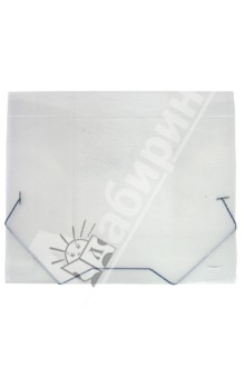 Папка с резинкой (40 мм, A4, полупрозрачная) (SB40TW-00)