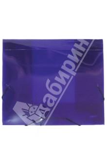 Папка на резинке (A4, 40 мм, фиолетовая) (SB40TW-09) proff папка для бумаг ultra на резинке формат a4 цвет синий