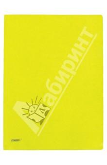 Папка-уголок A4, желтая 0.20 мм (CH510A/20-TF-02)