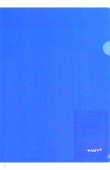 Папка-уголок A4, синяя 0.20 мм (CH510A/20-TF-04)