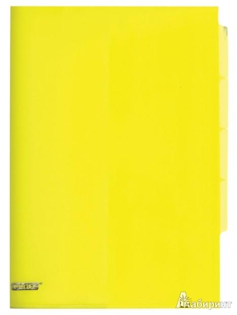 Иллюстрация 1 из 10 для Папка-уголок A4, с 3 отделениями, желтая (CH410-TF-02)   Лабиринт - канцтовы. Источник: Лабиринт