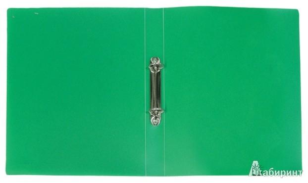 Иллюстрация 1 из 18 для Папка A4 2 кольца зеленая (ERB 25-2-03) | Лабиринт - канцтовы. Источник: Лабиринт