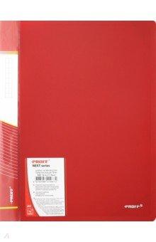 Папка A4 4 кольца красная (RB 16-4-01) папка a4 4 кольца черная rb 16 4 06