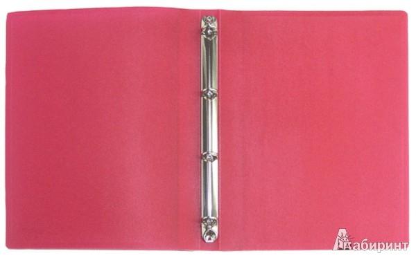 Иллюстрация 1 из 2 для Папка A4 4 кольца красная (RB 16-4-01) | Лабиринт - канцтовы. Источник: Лабиринт