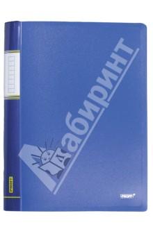Папка A4 4 кольца синяя (RB 16-4-04) proff папка для бумаг ultra на резинке формат a4 цвет синий