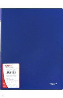 Папка A4 4 кольца синяя (RB 25-4-04)
