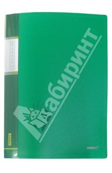Папка A4 с 20 вкладышами, зеленая (DB20AB-03)