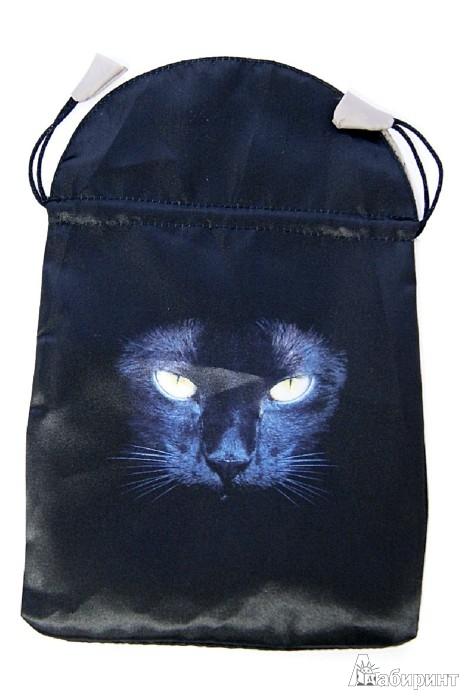 Иллюстрация 1 из 4 для Мешочек для карт таро: Черная кошка (BT42) | Лабиринт - книги. Источник: Лабиринт