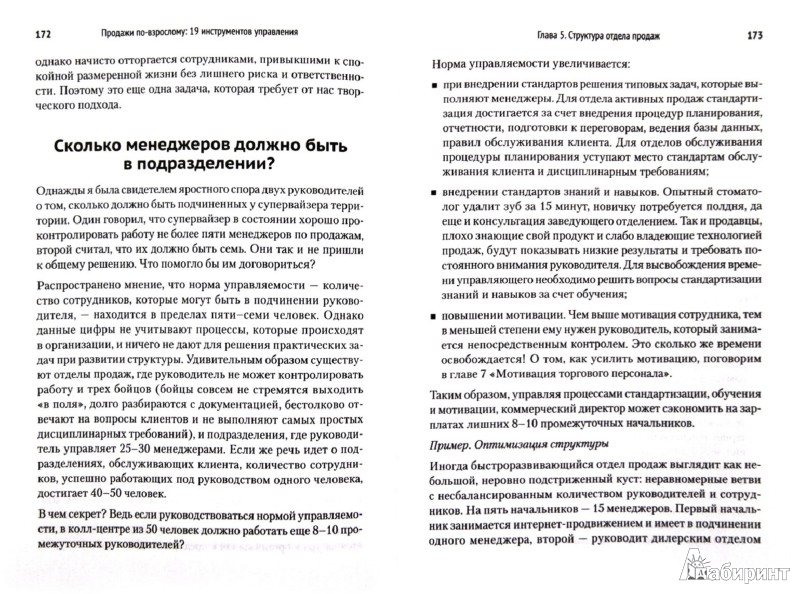 Иллюстрация 1 из 8 для Продажи по-взрослому: 19 инструментов управления - Ася Барышева | Лабиринт - книги. Источник: Лабиринт