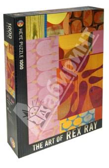 Puzzle-1000 Разноцветье, Rex Ray (29527) кристальный пазл 3d crystal puzzle динозавр t rex