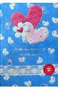 Записная книжка для девочек Два сердца (29156)