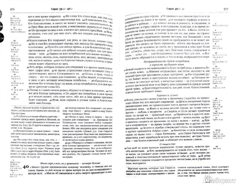 Иллюстрация 1 из 7 для Библия с комментариями, синяя, на молнии ((1147)077DC ZTI) | Лабиринт - книги. Источник: Лабиринт