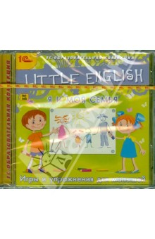 Zakazat.ru: Little English. Я и моя семья (DVD). Столяров Игорь